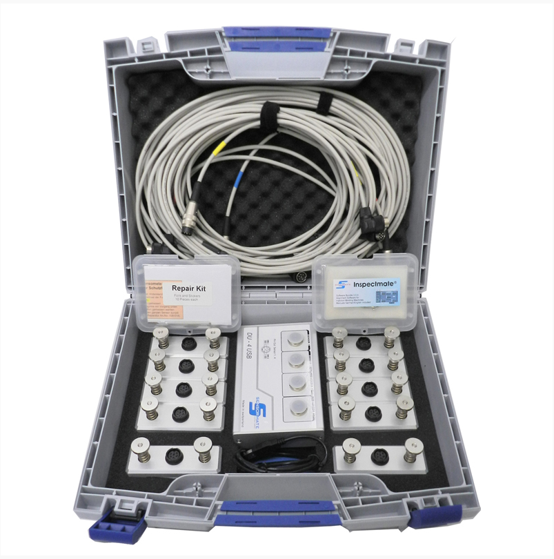 This is the Gefran tie bar kit that IMM Projects uses to stress test machines.
